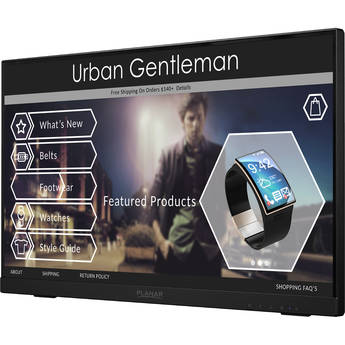 """Planar Systems PCT2235 22"""" 16:9 Multi-Touch LCD Monitor"""