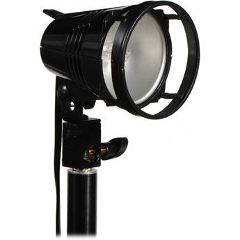 """Smith-Victor Q250-SG 250 Watt AC Video Light with 7"""" Mounting Arm"""