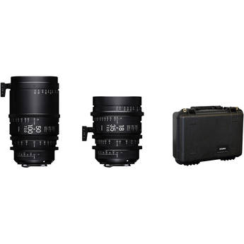 Sigma 18-35mm and 50-100mm Lenses with Case (Canon EF, Feet)
