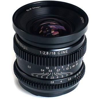 SLR Magic CINE 18mm f/2.8 Lens (Sony E-Mount)