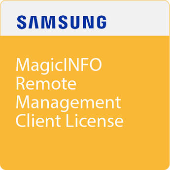 Samsung MagicInfo Remote Management Software Client License (Download)