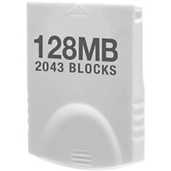 HYPERKIN Tomee 128MB Memory Card for Wii & GameCube