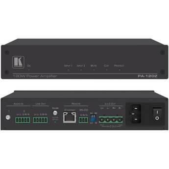 Kramer PA-120Z Power Amplifier (1 x 120W at 70/100V & 2 x 60W at 4/8 Ohms)