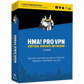 HMA Avast HMA Pro VPN 2018 (Download, 1-Year Subscription)