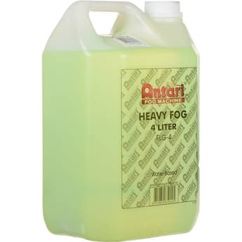 Antari FLG-4 Long-Lasting Fog Fluid for Antari Fog Machines (1 Gallon, Green Formula)
