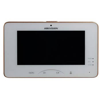 """Hikvision DS-KH8301-WT 7"""" Indoor Color Touchscreen Video Intercom Station"""