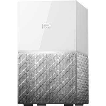 WD My Cloud Home Duo 8TB 2-Bay Personal Cloud NAS Server (2 x 4TB)