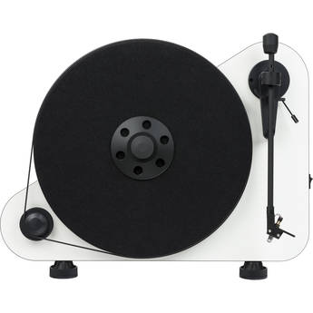 Pro-Ject Audio Systems VT-E BT R Vertical Turntable with Bluetooth (High-Gloss White)