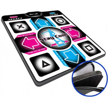 "HYPERKIN DDR Game V4.0 Super Deluxe Dance Pad with 1"" Foam Insert for Sony PS2/PS1 Systems"