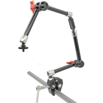 """GyroVu Heavy-Duty Dual 11"""" Articulated Arms with Adjustable Clamp"""