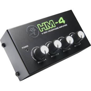 Mackie HM-4 4-Way Headphones Amplifier