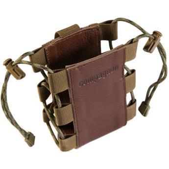 """compagnon """"The Tripod Quiver"""" Leather Accessory Holder (Dark Brown)"""