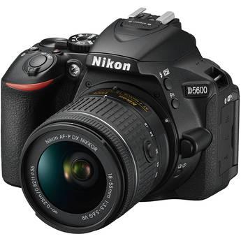 Nikon D5600 DSLR Camera with 18-55mm Lens (Refurbished by Nikon USA)