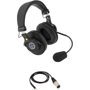 Senal SMH-1020CH Dual-Sided Communication Headset with 5-Pin XLRM Cable for Telex Systems