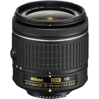 Nikon AF-P DX NIKKOR 18-55mm f/3.5-5.6G VR Lens (Refurbished by Nikon USA)