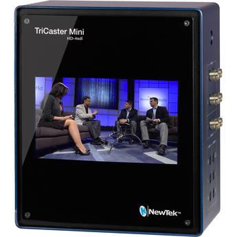 NewTek TriCaster Mini Advanced HD4 SDI Bundle with Control Surface & Travel Case