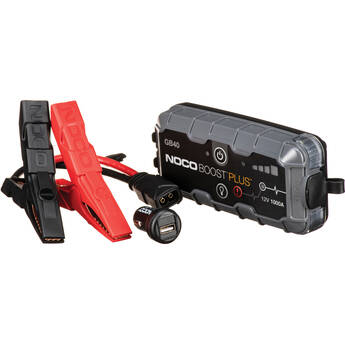 NOCO Genius Boost Plus 1000 Amp UltraSafe Jump Starter & Power Pack
