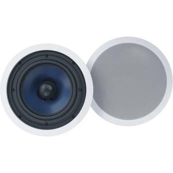 "Polk Audio RC80i 8"" In-Ceiling Speakers (Pair, White)"