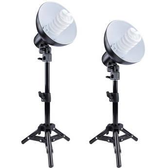 Studio Essentials Tabletop Fluorescent 2-Light Kit
