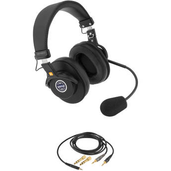 """Senal SMH-1020CH Dual-Sided Communication Headset with Two 1/8"""" Mini-Jacks Cable for Computer and Headphones"""