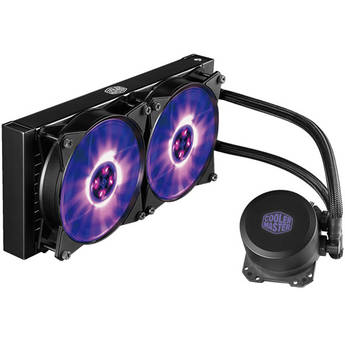 Forgiven Computer Cooling Fan CPU Water Cooling Block Red Copper Base Cool Inner Channel Compatible with AMD Intel CPU Color : White, Size : One Size