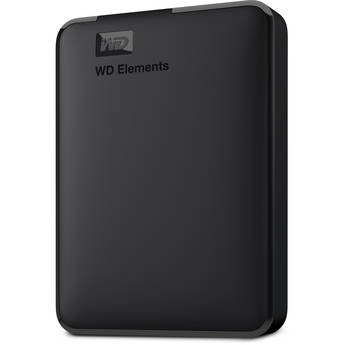 WD 4TB Elements Portable USB 3.0 External Hard Drive