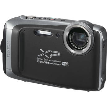 FUJIFILM FinePix XP130 Digital Camera (Silver)
