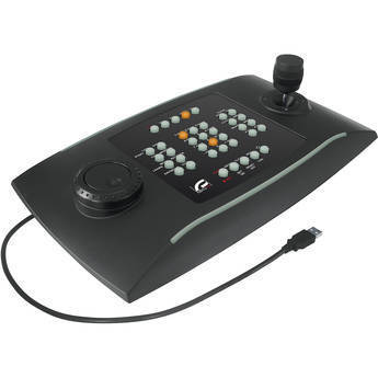 Videotec DCZ Universal USB Keyboard for PC Control of CCTV Systems