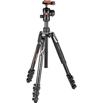 Manfrotto Befree Advanced Travel Aluminum Tripod with 494 Ball Head (Lever Locks, Sony Alpha Edition)