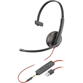 Plantronics Blackwire 3215 USB Type-A Corded Monaural UC Headset