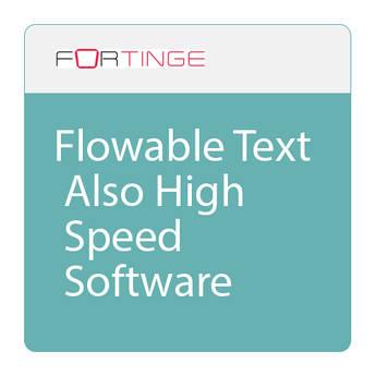 Fortinge ForPrompt Prompter Software (Download)