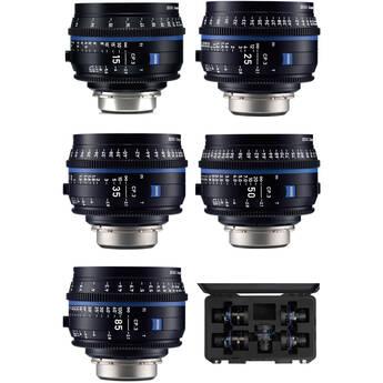 ZEISS CP.3 5-Lens Set (Canon EF Mount)