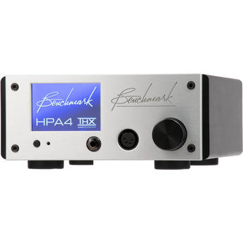 Benchmark HPA4 Reference Headphone/Line Amplifier with Remote Control (Silver)