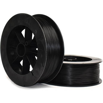 NinjaTek Armadillo 1.75mm 75D TPU Nylon Alternative Filament (2kg, Midnight)