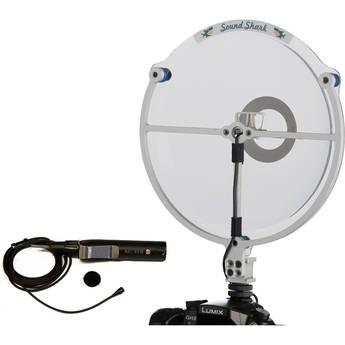Sound Shark SS1-ACC-K-KEQ-WC Parabolic Microphone ACC Equalized XLR Kit