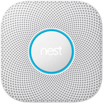 Google Nest Protect Battery-Powered Smoke and Carbon Monoxide Alarm (White, 2nd Generation)
