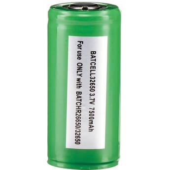 Bigblue 32650 Lithium-Ion Battery for Select VL, VTL, and TL-Series Dive Lights (3.7V, 7500mAh)