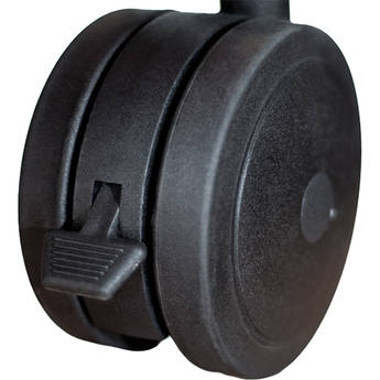 Salamander Designs Dual Wheel Casters for Archetype Shelving System (Set of 4)