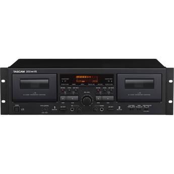 Tascam 202MKVII Rackmount USB Dual Cassette Deck