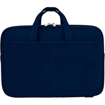 "Second Skin 13"" MacBook Sleeve with Handles (Navy)"