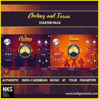 Indigisounds Indo-Caribbean Samples - Chutney and Tassa Sample Library (Download)