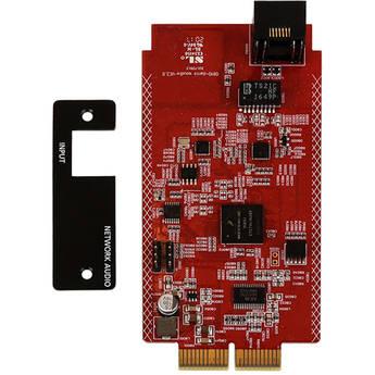 Atlona Dante/AES67 Card for AT-GAIN-120