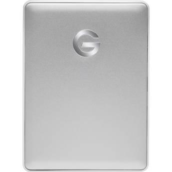 G-Technology 4TB G-DRIVE mobile USB 3.1 Gen 1 Type-C External Hard Drive (Silver)