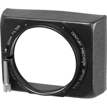 Century Precision Optics DSFA8200 Rectangular Sunshade - Works with DS Series Wide Angle and Telephoto Adapters, Accepts One 82mm Screw Type Filter