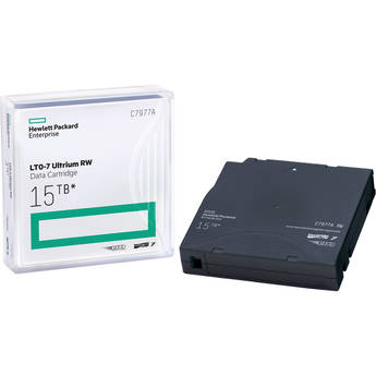 Hewlett Packard Enterprises 15TB LTO-7 Ultrium RW Data Cartridge