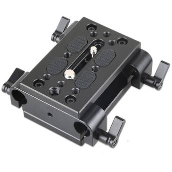 SmallRig Tripod Mounting Kit with 2 x Plates and 2 x 15mm Rod Clamps