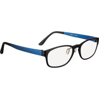 HornetTek HT-GL-B122-BL Blue-Light Blocking Glasses (Black and Blue)