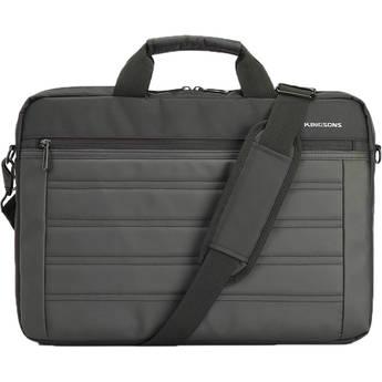 """Kingsons 15.6"""" Legacy Series Shoulder Bag (Black)"""