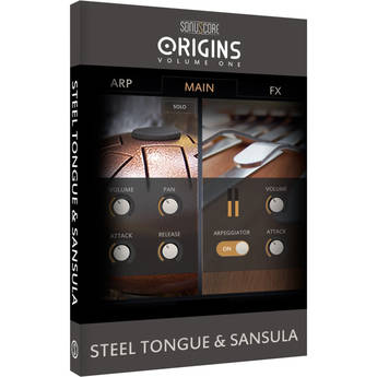 SONUSCORE Origins Volume 1: Steel Tongue & Sansula - Virtual Instrument Library (Download)