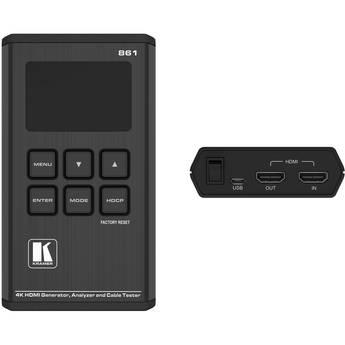 Kramer 18G 4K HDR Pocket Signal Generator, Analyzer, and Cable Tester